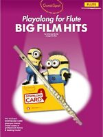 Guest Spot: Big Film Hits Playalong for Flute (Book & Audio Download)