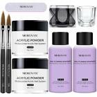 Morovan Acrylic Nail Kit,Professional Clear Acrylic Powder and Liquid Set, 2pcs