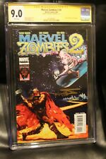 Marvel Zombies 2 #5 CGC 9.0 SS Signed Arthur Suydam Silver Surfer 4 variant Thor