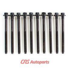 Cylinder Head Bolts 92-04 Ford Escort Focus Mercury Tracer 1.9L 2.0L SOHC 8V