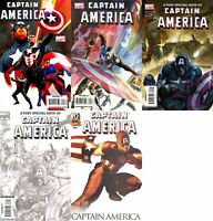 Captain America #600-601 (1968-1996, 2009-2011) Marvel Comics - 5 Comics