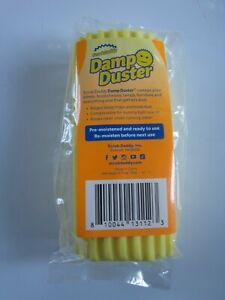 Damp Duster New ScrubDaddy Dusting Sponge Yellow Dust Buster Scrub Daddy Try It!