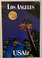 "USAir Los Angeles Palm Trees Poster 24"" x 36"""