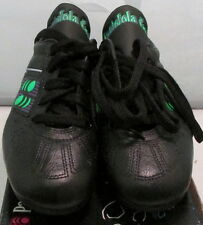 1990's Pantofola d'oro Olimpic Mens Soccer Shoes, Size 5, Black