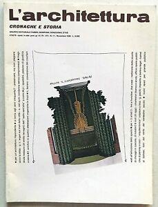 L'architettura cronache e storia 373 1986 Bruno Zevi Asilo Terragni Emilio Como
