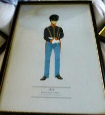MILITARY BEAUTIFULLY FRAMED PRINT DRAWN  BY P H SMITHERMAN A HUGH EVELYN PRINT