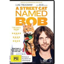 A STREET CAT NAMED BOB-DVD-Luke Treadaway-Region 4-New AND Sealed