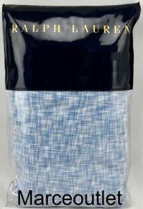 Ralph Lauren Veronique Lillie STANDARD Pillowcases Blue
