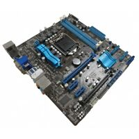 Asus P8H61-M Pro Rev 1.05 LGA 1155 MicroATX Motherboard With Backplate