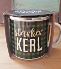 "la vida Emaillebecher "" Starker Kerl ""  Kaffee Tee Camping Outdoor Tasse Becher"