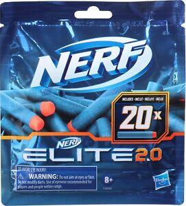 Nerf Elite 2.0 Dart Refill Pack Of 20