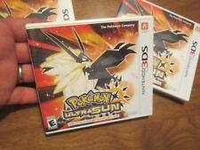 Pokémon Ultra Sun Nintendo 3DS GAME POKEMON AUTHENTIC BRAND NEW FACTORY SEALED