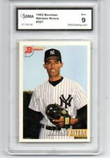 1993 BOWMAN MARIANO RIVERA MINT ROOKIE BASEBALL CARD NEW YORK YANKEES