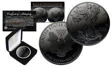BLACK RUTHENIUM 1 oz .999 Fine Silver 2018 American Eagle US Coin w/ Deluxe Box