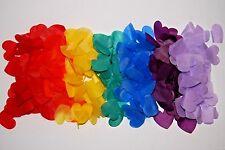 GAY PRIDE - Civil partnerships - Births - Biodegradable Rainbow  Heart Confetti