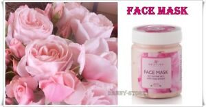 100% Natural Face Mask with Rose Extract for Normal Skin Nourishes  200 ml