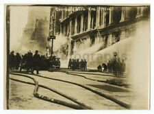 Equitable Life Building Fire, 1912, Nyc - Early 1900s Original Press Photograph