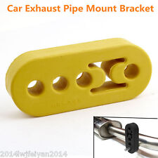 Universal Replacement Vehicles Exhaust Pipe Mount Rubber Brackets Hanger 4 Holes