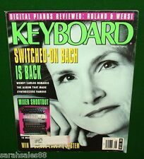 1992 Wendy Carlos MIDI Delay Detector, Roland FP-8 Wersi CPF 1 KEYBOARD Magazine