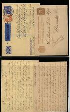 Netherlands  Indies  2  postal  cards   used     KL0821