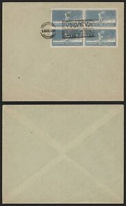 Uruguay 1924 - Stamped Cover Football Olympics I401