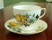 Bone China Tea Cup and Saucer Queen Anne England