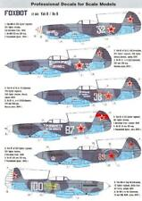 Foxbot Decals 1/72 YAKOVLEV Yak-9 Soviet WWII Fighter