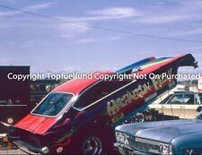 MachineGun Kelly NHRA Top Fuel Funny Car 8x10