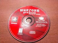 Sony PlayStation 1 PS1 PSOne Disc Only Tested Warzone 2100 Ships Fast