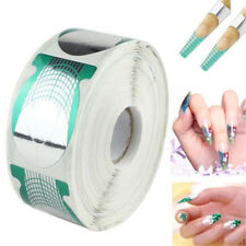 500pcs Nail Art Form Sticker Self-adhesive Extension Guide Acrylic Tips UV Gel