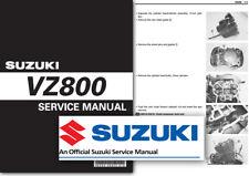 Suzuki VZ800 M50 Boulevard Workshop Service Shop Manual Factory ALL 2005 - 2008