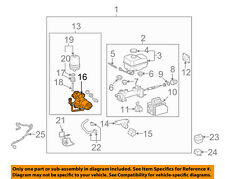 TOYOTA OEM-ABS Pump & Motor Assy 4796060050