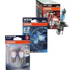 Osram Night Breaker Unlimited H4 110% Diadem Chrome PY21W Cool Blue Intense W5W