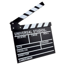 Filmklappe 30 x 27cm Regieklappe Szenenklappe Hollywood Clapperboard TV Movie