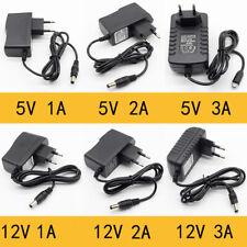 Переменного тока детектив комиксы 5 В 12 В 24 В 1A 2A 3A источник питания адаптер трансформатор светодиодной ленты CCTV