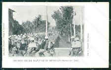 Firenze Mugello Manovre Militari 1902 cartolina KF2713