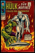 Tales to Astonish #93..6.5 Fine+..First Silver Surfer outside of Fantastic Four