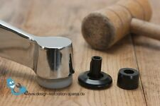 Set of 4 GLIDES and Bushings for segmented table | Herman Miller | vitra | ea...