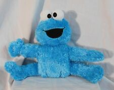 """11"""" Pose A Pal Cookie Monster Plush Sesame Street 2007 -Never Played With- Rare"""