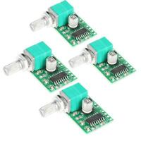 4pcs PAM8403 Mini DC 5V Digital Audio Amplifier Amp Module Board Output 3W*2 GL