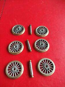 Romford wheels 20mm X 6.    00 Gauge