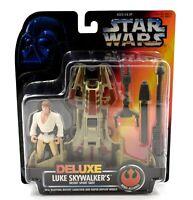 Star Wars Power of The Force - Luke Skywalker's Desert Sport Skiff Figure Set