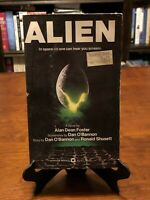 ALIEN by Alan Dean Foster (Aliens Series) 1ST EDITION - 1ST PRINTING - LIKE NEW