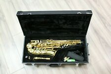 Jupiter JAS500 Gold Lacquered High F# Alto Saxophone