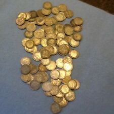 More details for 100 collectable silver  threepences pre 20 and pre 47 not scrap coins.