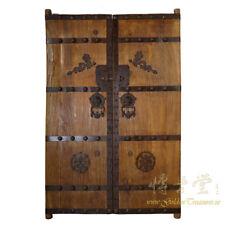 Pair of Antique Chinese Massive Court Yard Door Panels 27P01-2