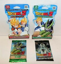 PANINI DRAGONBALL Z BOOSTER PACK 4ct LOT PERFECTION,HEROES VILLAINS & EVOLUTION