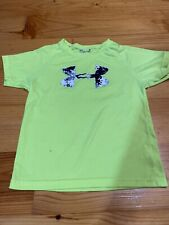 Boys Size Size 5 Under Armour Short Sleeve Shirt READ