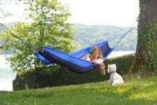 Accessoires hamacs couchages bleus pour tente et auvent de camping