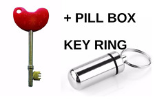 NKS RADAR KEY Disabled Toilet AND Pill Box Key Ring